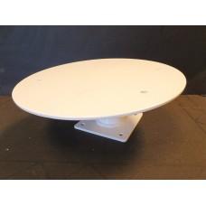 "Mount for Raymarine Dome Radar Aluminum 6"" White"