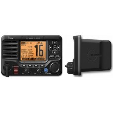 Icom IC-M506 VHF Fixed Mount with Rear Mic, AIS and NMEA 0183/2000 Black