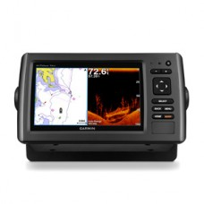 Garmin echoMAP CHIRP PLUS 74sv with ClearVu Transom Mount Transducer