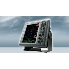 "Furuno 1835 4 kW Transmitter, 36 NM Radar System with 10.4 Inch Color LCD display and 24"" Radome"
